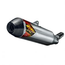 13-16 CRF450 F4.1 ALUM/CARBON CAP SILENCER + LEFT SIDE PANEL 41507